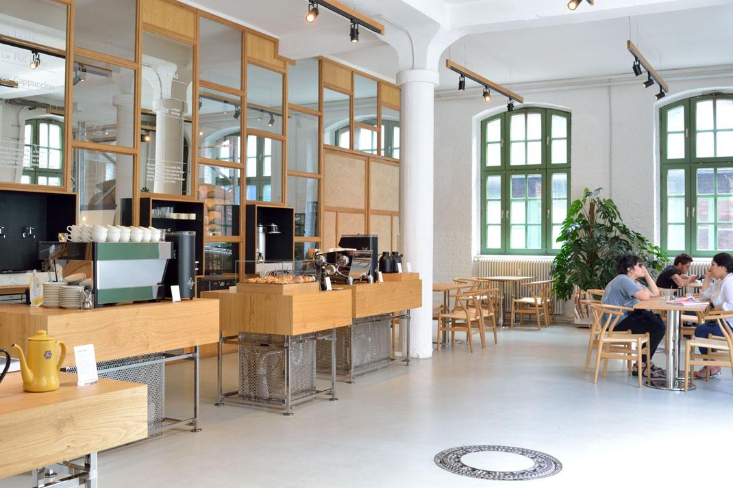 Bonanza Roastery Café - Berlin // © Sarah Gessner